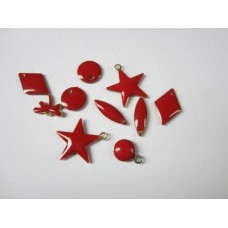 Charms mix rosso