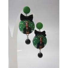 Orecchini Frida verde